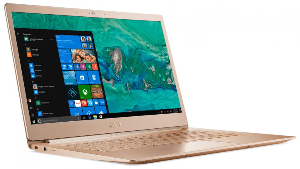 acer swift notebook 1024x578 - Ноутбук — виды, основные характеристики и рекомендации при покупке