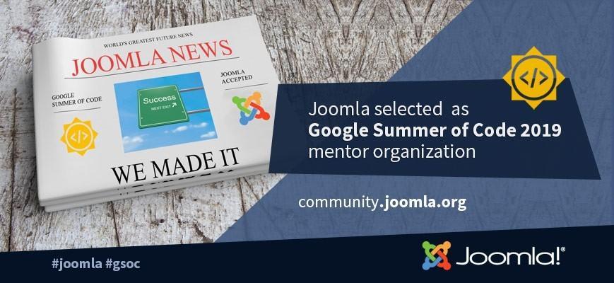 joomla gsoc 2019 accepted - Многогранная CMS Joomla — основные возможности и преимущества
