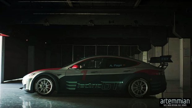 egt tesla racing 620x349 - EGT — будущее уже на пороге или гонки на машинах Tesla