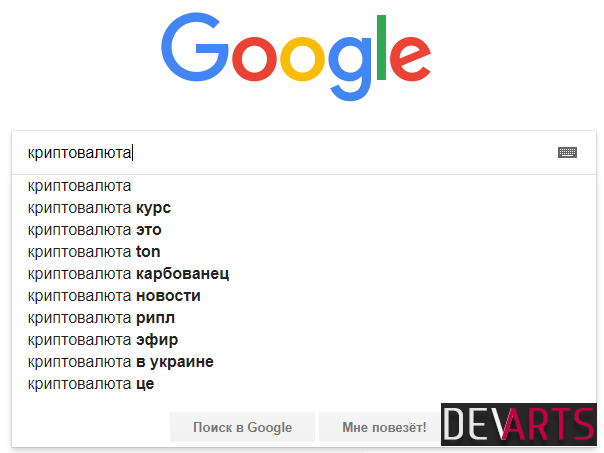 google search helps - Семантика сайта — способы подбора ключевых слов