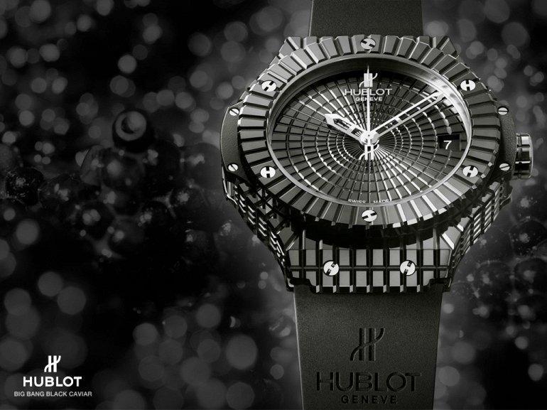 hublot black caviar bang watch top 7 - ТОП-10 самых дорогих часов в 2018 году