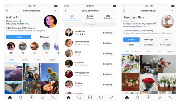 instagram application 620x361 - Instagram — подписки, отписки и инстаграм-визитки