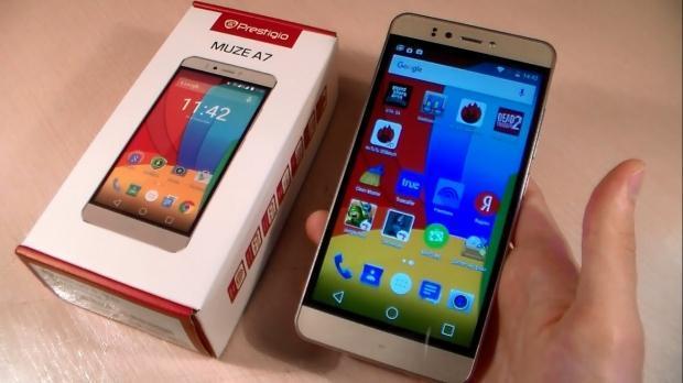 prestigio smartphone - Лучшие российские бренды смартфонов на Android