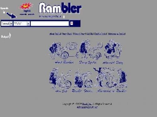Rambler.ru 1996 год
