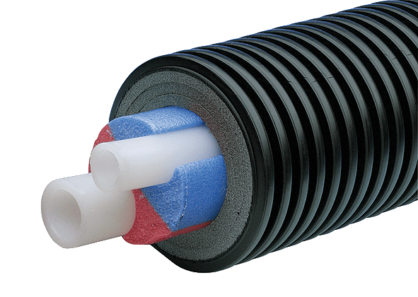 uponor water pipe - Uponor — Универсальные предизолированные полимерные трубы