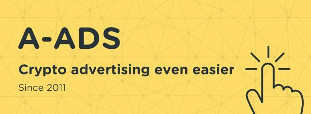 a ads context crypto - A-ADS — конетекстная партнерка с оплатой в биткоинах
