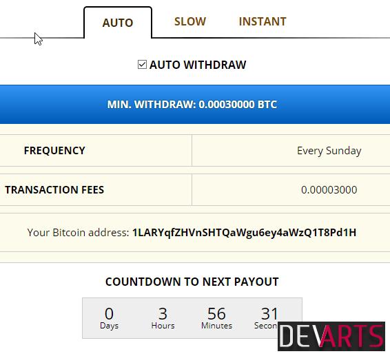 freebitco.in widthraw - Freebitcoin — кран с бесплатными биткоинами и автовыплатами
