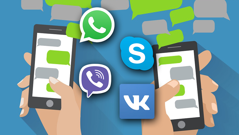 mesengers all popular - От SMS до Мессенджеров — как технологии вернулись к простой переписке