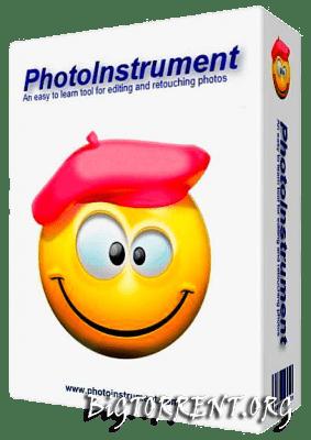 PhotoInstrument logo - PhotoInstrument — обработка лиц без углубления в тему