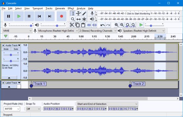 audacity logo 620x397 - AudaCity - легкий аудиоредактор
