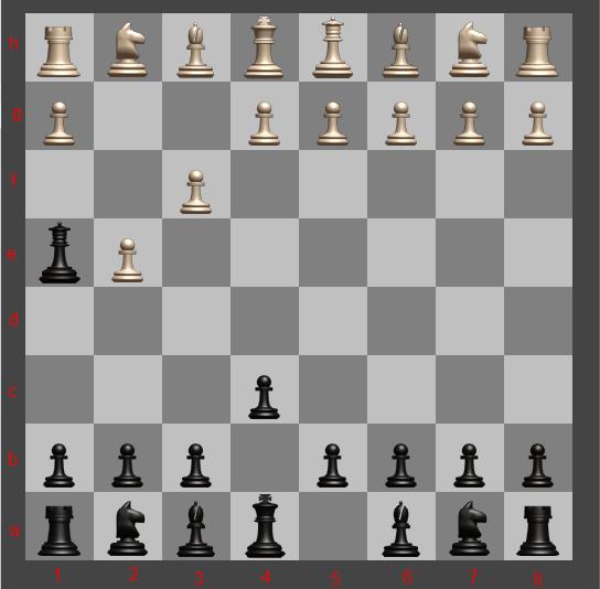 Шахматы — мат в 2 хода