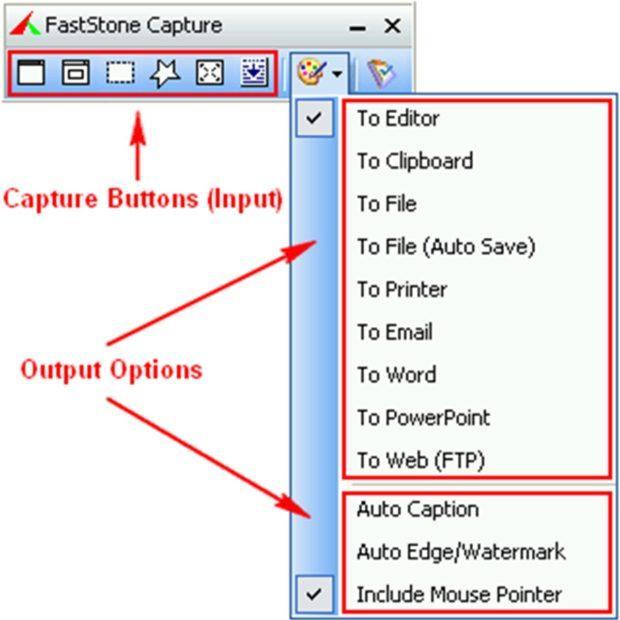 fast stone capture 620x620 - FastStone Capture — скриншот экрана, выделенной области и всего сайта с прокруткой