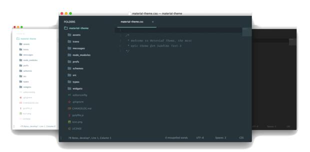 material theme 620x305 - Sublime Text — подборка лучших Flat и Material тем оформления