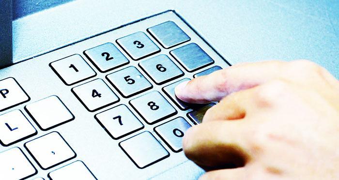 pincode panel - Статистика использования чисел в pin-кодах