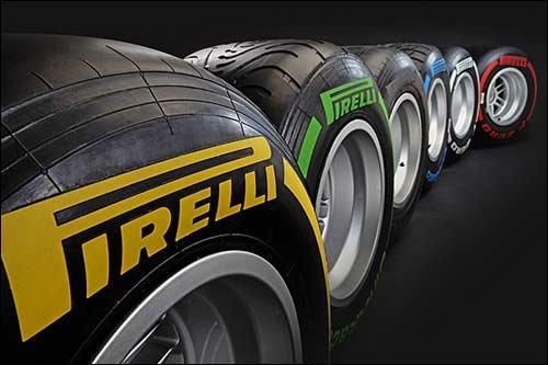 pirelli wheelscolor marks - Новая маркировка резины от Pirelli для F1 уже готова