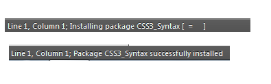 sublime text loading installed - Sublime Text — плагины, их установка и настройка