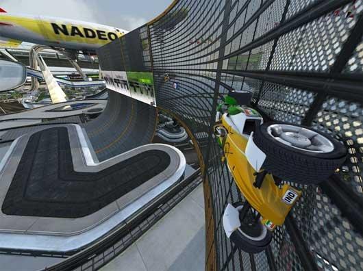 track mania scr1 - TrackMania Nations Forever — когда нужно убить пол дня!