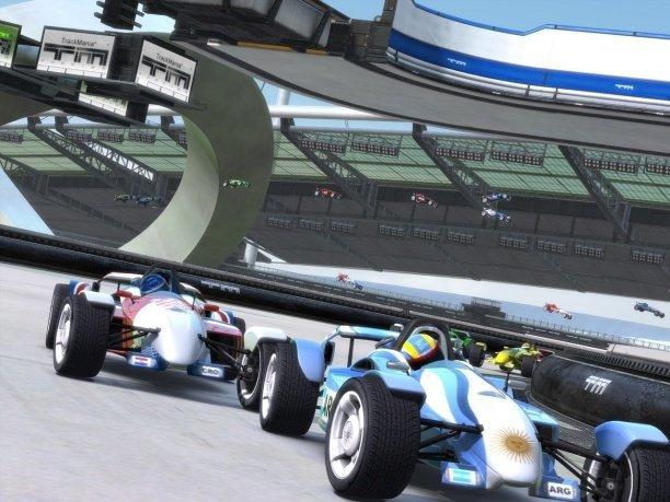 track mania scr3 - TrackMania Nations Forever — когда нужно убить пол дня!