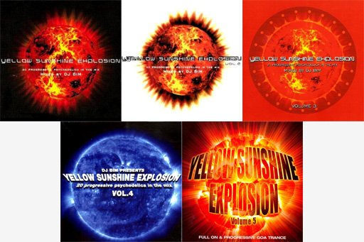 yellow sunshine explosion logo - VA — Goa Yellow Sunshine Explosion, YSE (2002-2012)