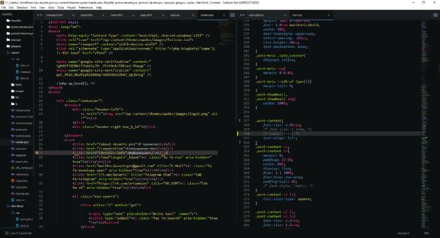sublime text coding program 620x336 - Копирайтинг — пишем контент-план в редакторе кода Sublime text