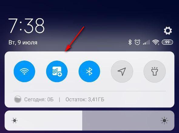 Todoist —  Быстрое добавление заметок через меню основных инструментов Android