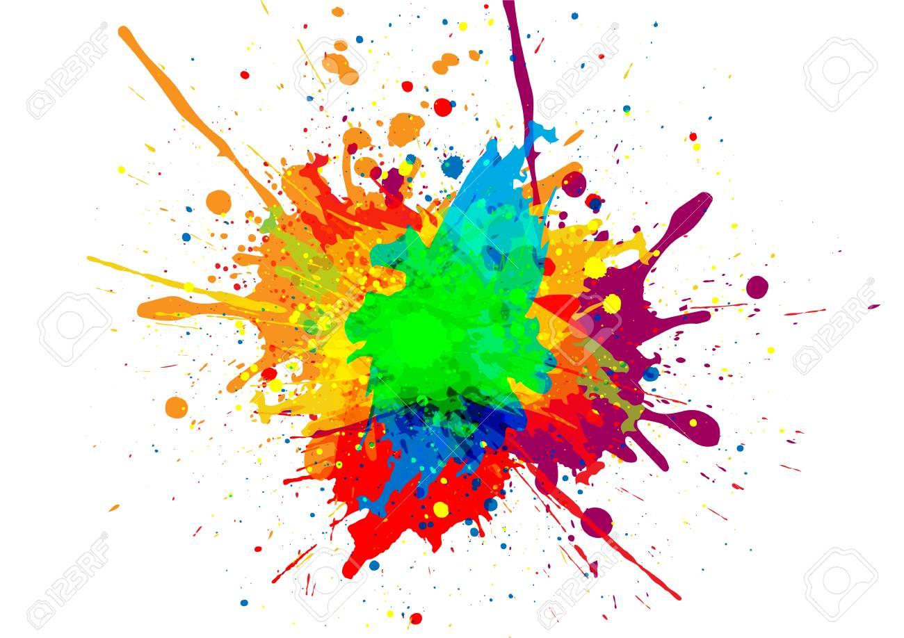 abstract vector paint - Как начинающему дизайнеру продвигать свои услуги