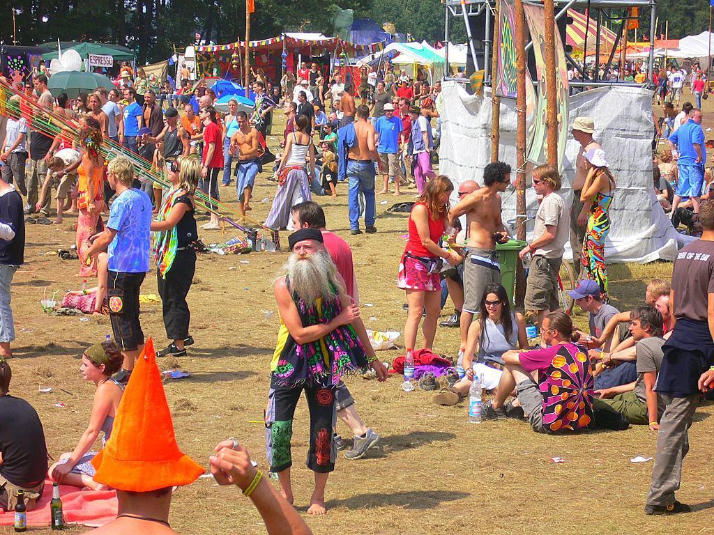 Goa hippy party