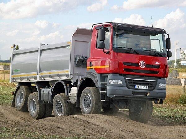 tatra independent suspension - Tatra 815 — чешский полноприводный грузовик-вездеход